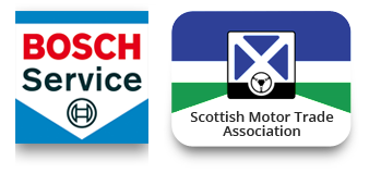 Bosch & Scottish Trade Associations Logos
